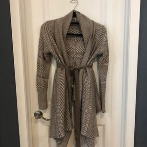 Bebe belted sweater